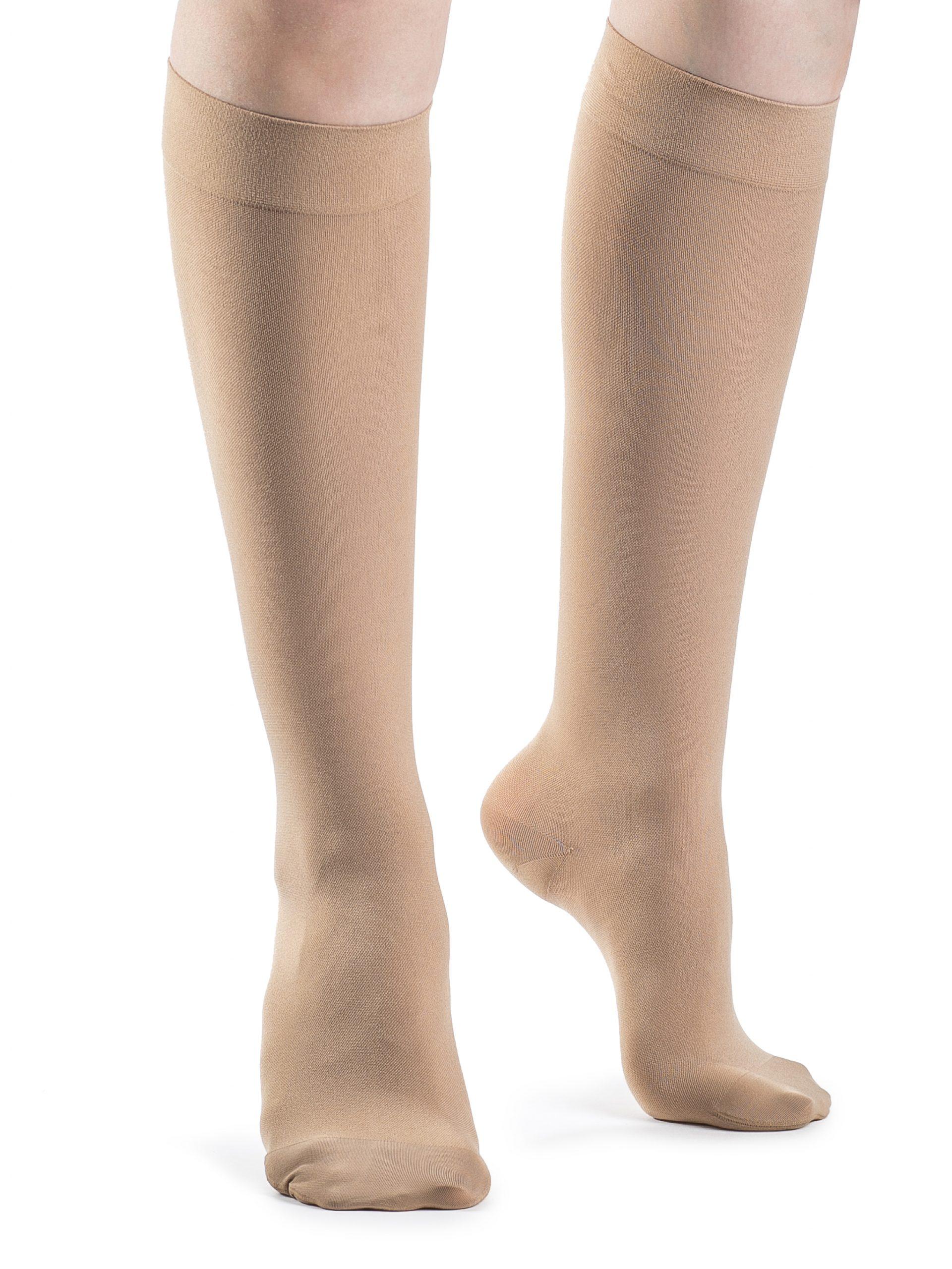 Soft Opaque Calf Closed Toe