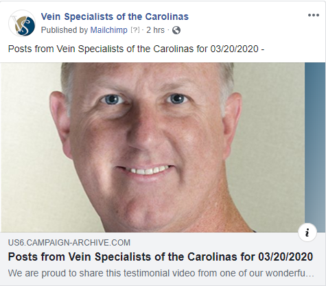 News And Updates From Vein Specialists of the Carolinas