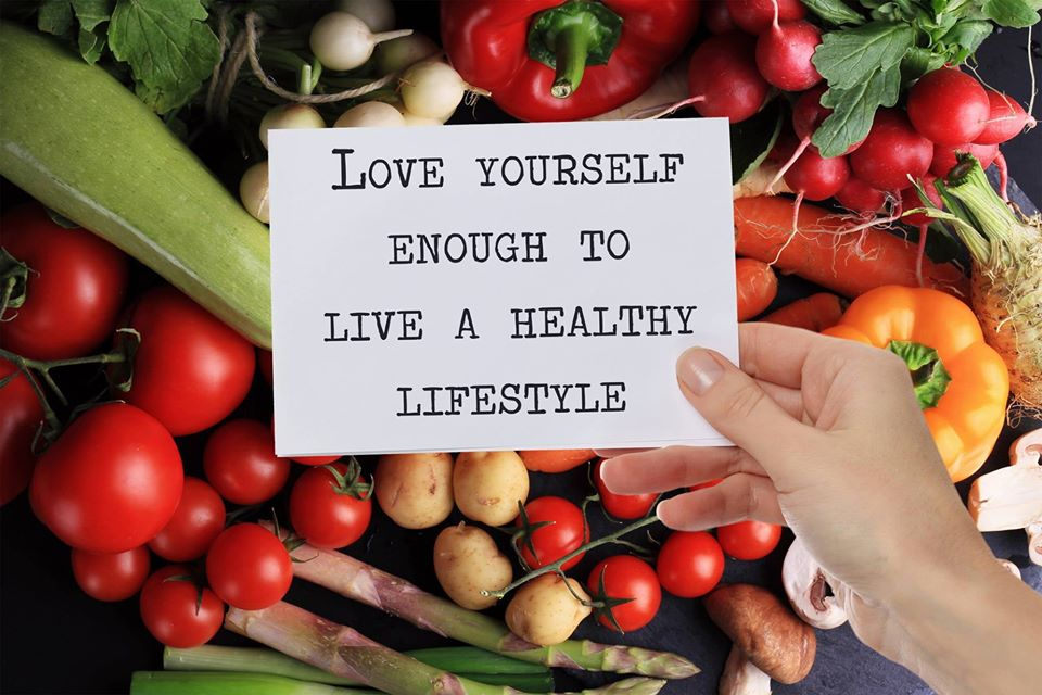 Love Yourself Enough To Live A Healthy Lifestyle