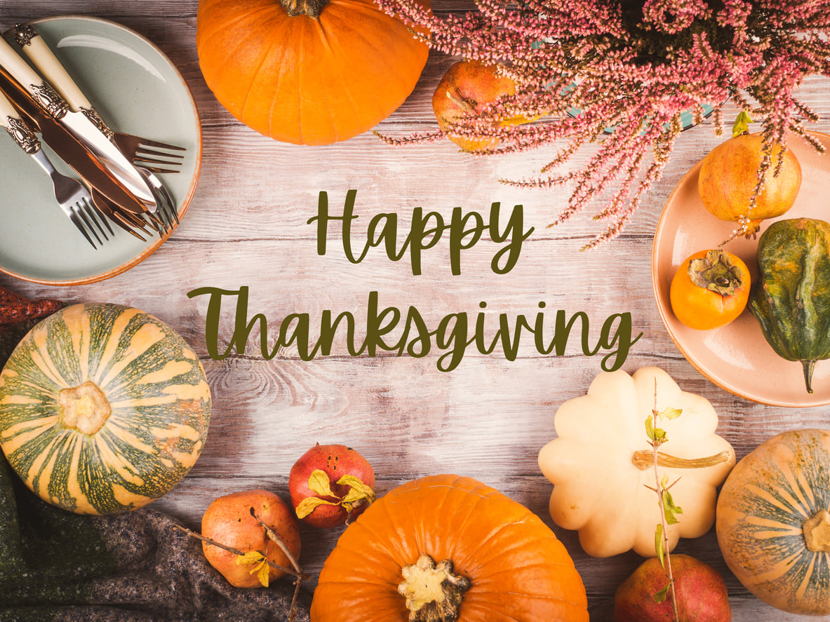 Happy Thanksgiving from Vein Specialists of the Carolinas