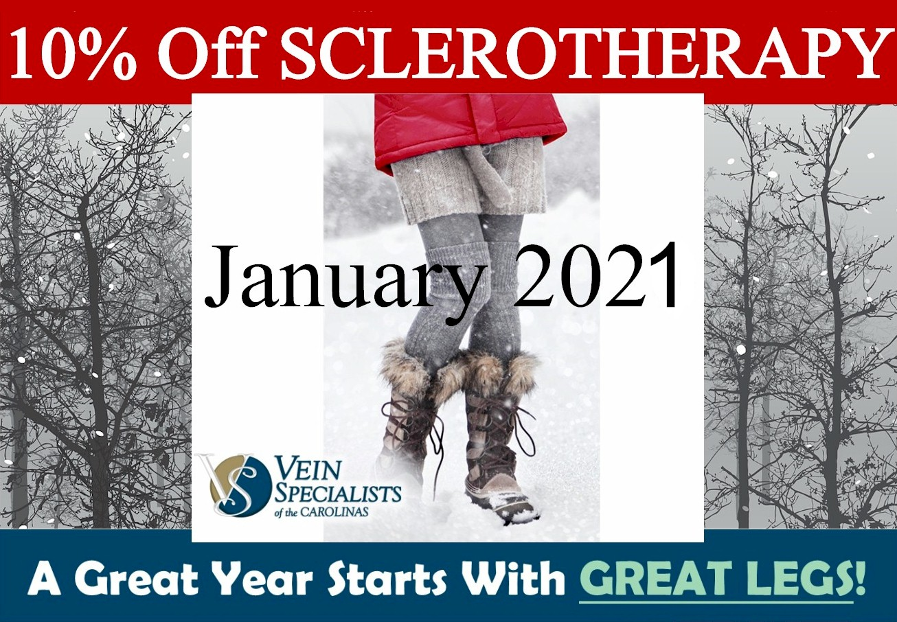 On the 3rd day of Christmas VSC brought to me – 10% Off Cosmetic Sclerotherapy!