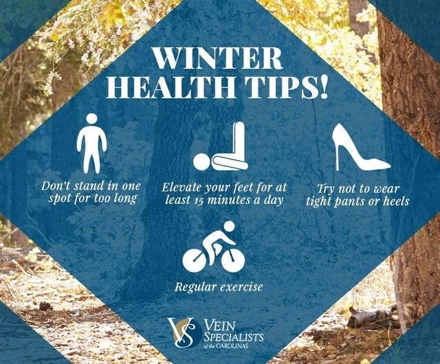 On the First day of Christmas VSC brought to me…. Winter Health Tips!