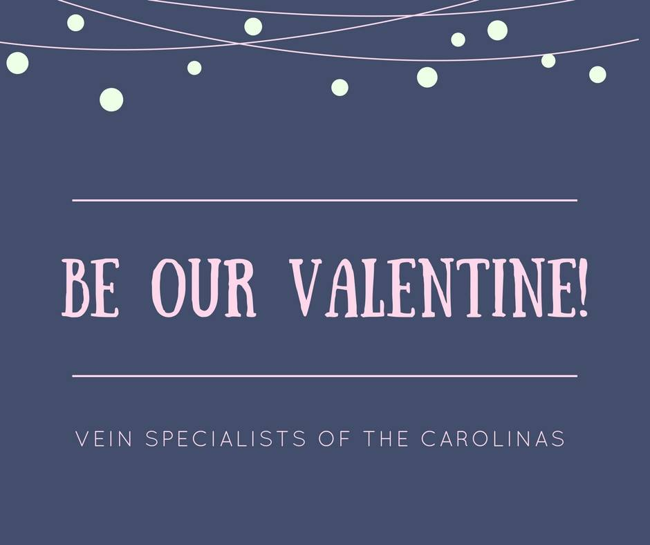 Happy Valentines Day from our team at Vein Specialists of the Carolinas.